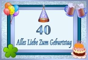 Spiele Zum 40 Geburtstag