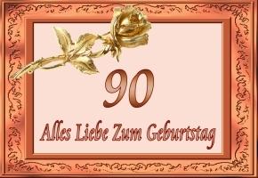 90 Geburtstag