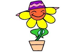 Ausmalbilder Blumen Fur Kinder