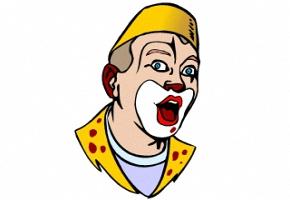 Ausmalbilder Clown Gesichter Kostenlos