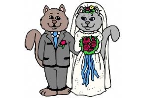 Ausmalbilder Hochzeit