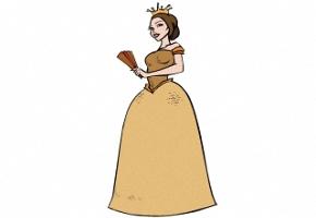 Ausmalbilder Märchen Prinzessin
