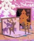 weihnachtskarten basteln vorlagen anleitungen. Black Bedroom Furniture Sets. Home Design Ideas