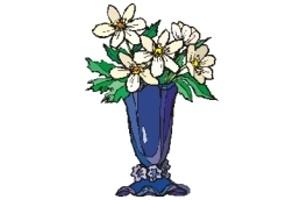 Blumenvasen Ausmalen Kostenlos