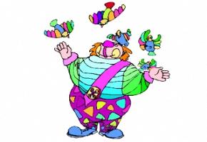 Clown Bilder Zum Ausmalen