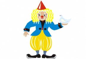 Clown fensterbilder kostenlos - Fensterbilder karneval ...