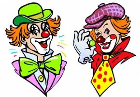 Clowngesicht Ausmalbilder