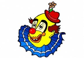 Clowngesicht Malvorlagen Kostenlos