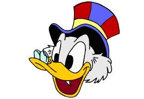 Donald Duck Ausmalbilder Kostenlos