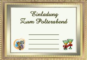 Einladung Polterabend Vorlage