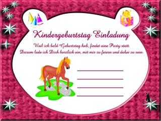 Einladungskarten Für Kinder 10