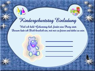 Einladungskarten Für Kinder 34