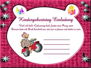 Einladungskarten Kindergeburtstag 10 Einladungskarten Kindergeburtstag