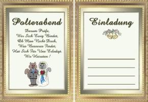 Einladungskarte Polterabend 59