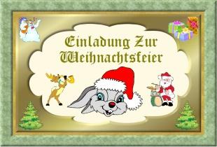 einladungskarten weihnachtsfeier kostenlos, Einladungen