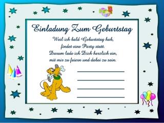 Einladungskarten Für Kinder 19