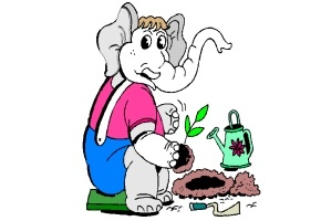 elefanten comic bilder ausdrucken. Black Bedroom Furniture Sets. Home Design Ideas