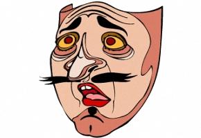 Fasching Malvorlagen Gesicht