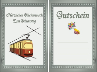 Geburtstag Gutschein Reise