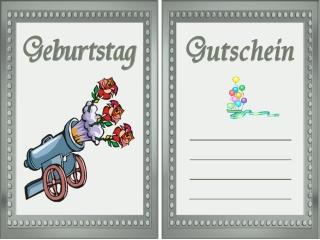 Spruch Karte Geburtstag Gutschein