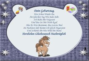 Geburtstag Nachtraglich Lustig