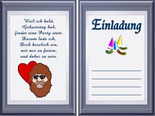 Gedichte Einladungsspruche Zum Geburtstag