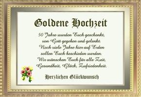 Goldene Hochzeit Gedichte Kostenlos