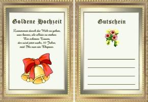 Goldene Hochzeit Geschenke
