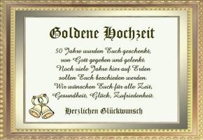 Goldene Hochzeit Spruche Kostenlos