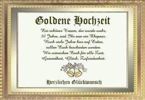 Goldhochzeit Spruch Kurz Schöne Sprüche Zur Goldenen