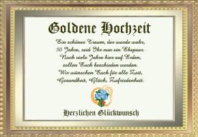 goldene hochzeit verse