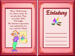 Kostenlos drucken einladungskarten Einladungskarten kostenlos