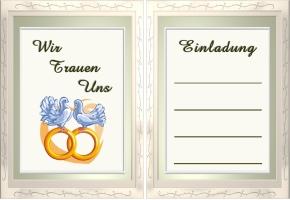 Hochzeit Einladung Vorlage