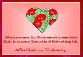 Schöne Sprüche Zum Hochzeitstag Jahrestag Geburtstag Amp Danke ...