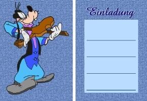 Kindergeburtstag Disney Einladungen Kostenlos