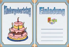 Kindergeburtstag Einladung Drucken