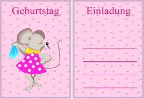 kindergeburtstag mädchen kostenlos, Kreative einladungen