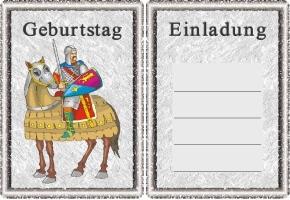 Ritter Einladung 7