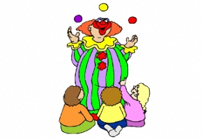 kostenlose malvorlagen clown