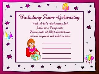 Einladungskarten Für Kinder 31