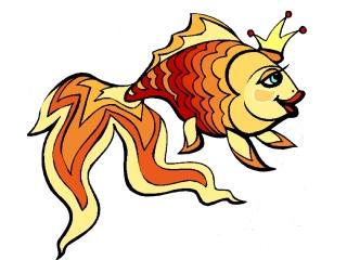 Lustige Malvorlagen Fische Ausdrucken