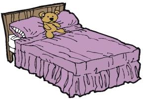 Malvorlagen Bett Kostenlos