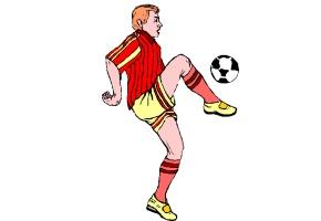 Malvorlagen Fussballspieler Kostenlos