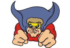 malvorlagen superman kostenlos