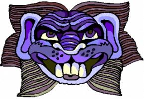 Die Maske für die Person auf der Grundlage solkosserila