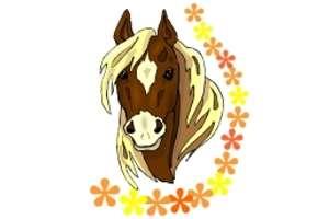 Pferdekopf Ausmalbilder