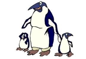 Malvorlagen pinguine 32