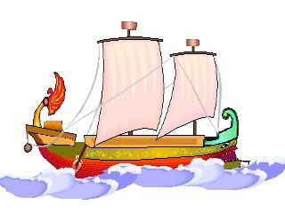 schiff zum ausmalen