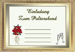 Polterabend Einladung Text