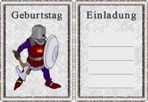Ritter Einladung 4